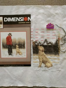 Man's Best Friend kit by Dimensions-this is the gift for my folks. I can't resist labradors!