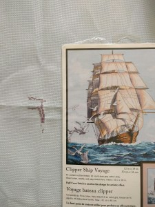 Clipper Ship Voyager kit by Dimensions.